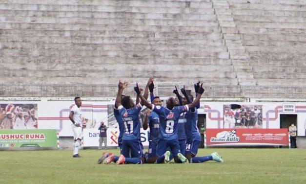 Súper victoria en Ambato