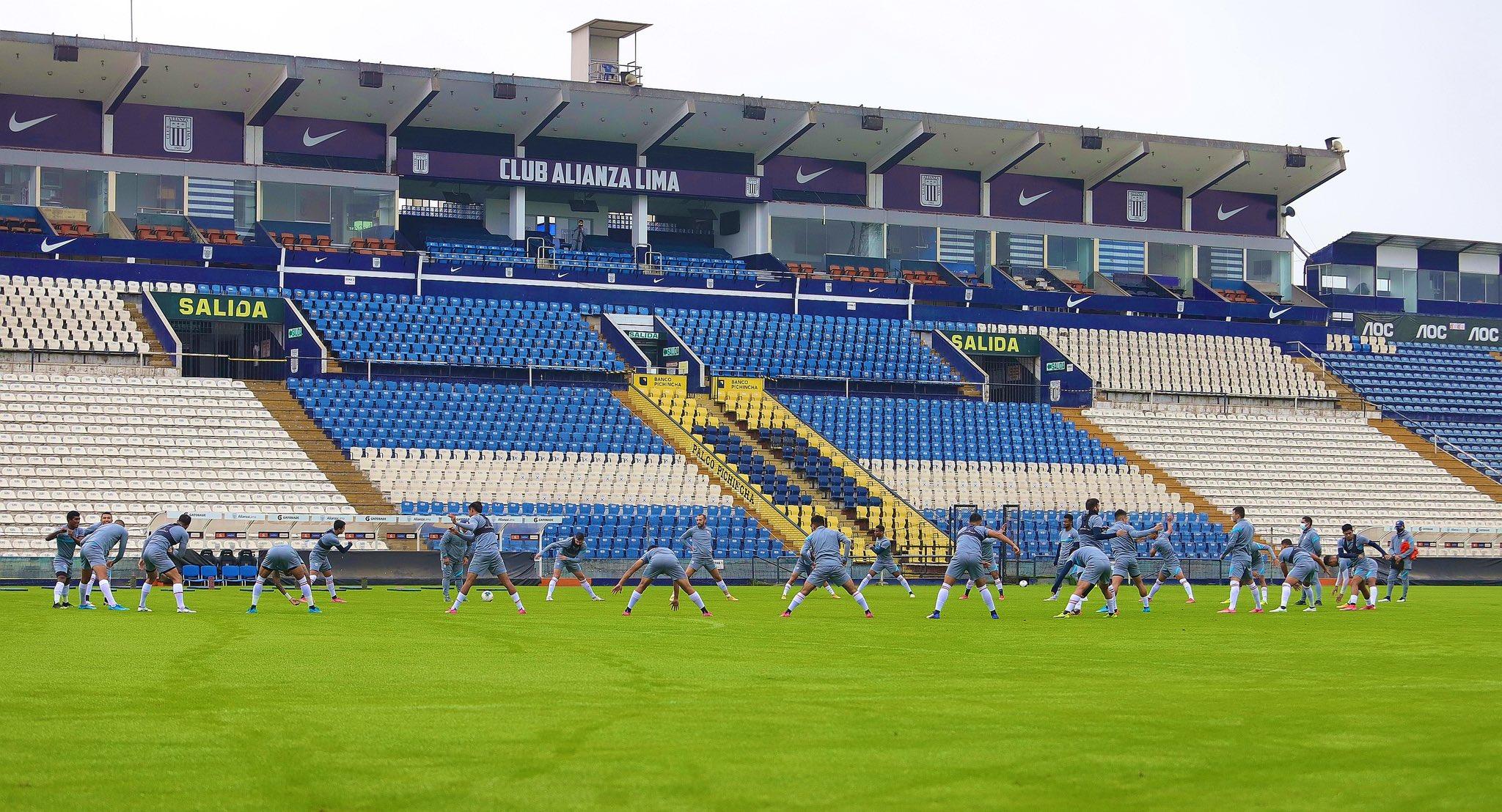 Todo listo para el debut de Alianza Lima en la 'Fase II'