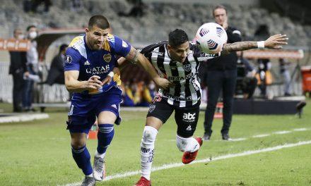 Fuego cruzado entre Atlético Mineiro y Boca Juniors