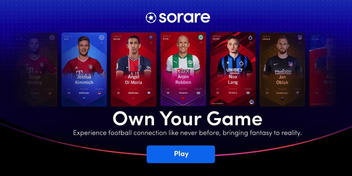 Fútbol y criptos con Sorare