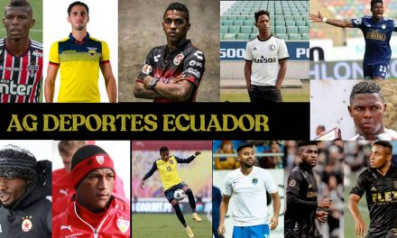 Ecuatorianos y su actuación en el fútbol extranjero
