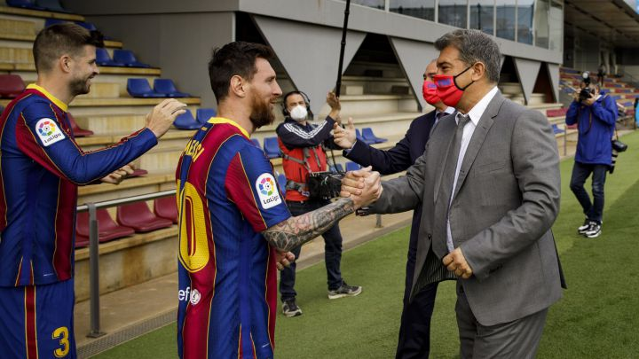 Acuerdo inminente entre Messi y el Barça
