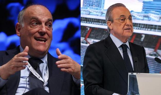Guerra entre Florentino Pérez y Javier Tebas