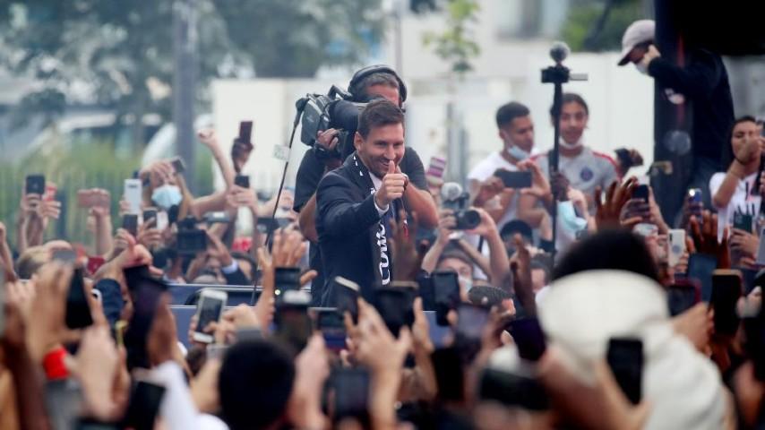 Leo Messi: el nuevo rey de París