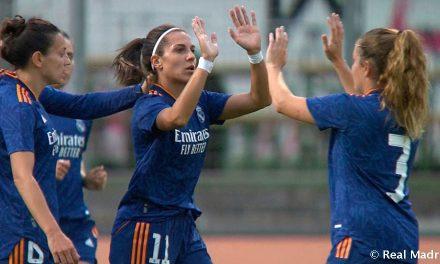Debut y alegría en el Real Madrid