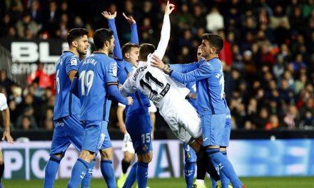 Valencia-Getafe; disipar es la cuestión