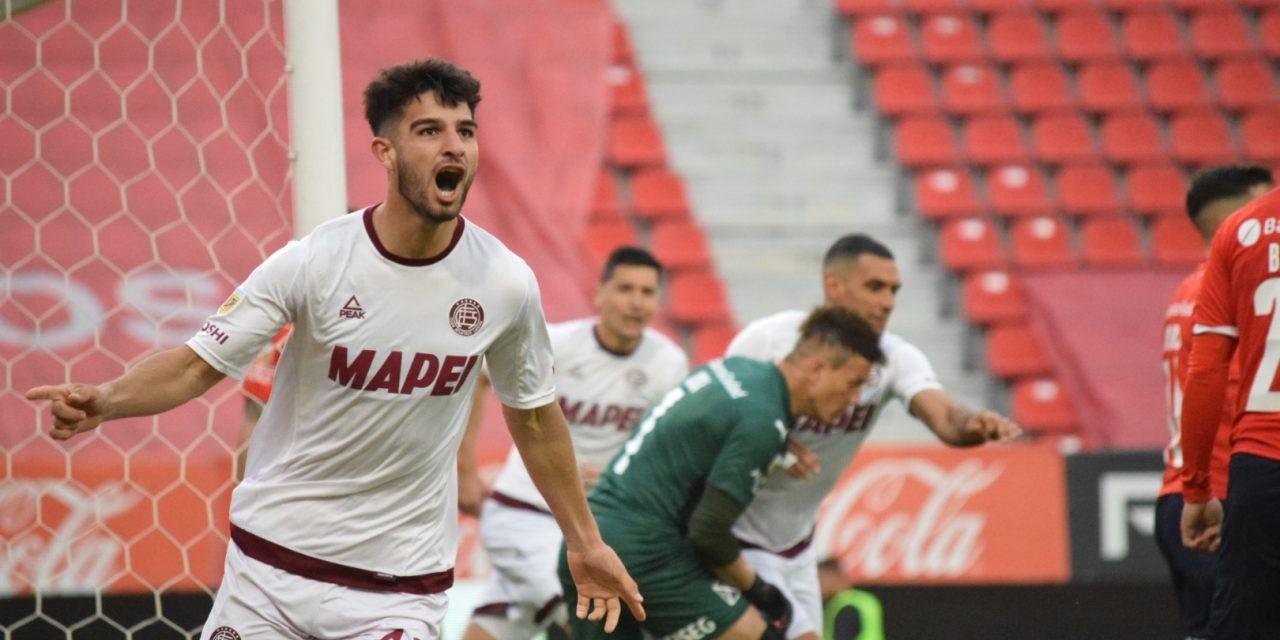 Lanús le ganó un duelo clave a Independiente