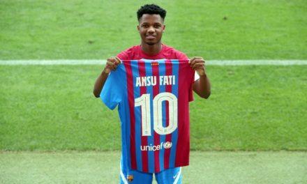 Ansu Fati se queda con el número '10'