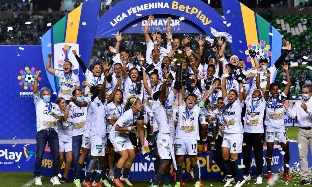 Deportivo Cali campeón de la Liga Femenina