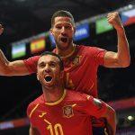 España convence y avanza a cuartos de final de la Copa Mundial de Futsal