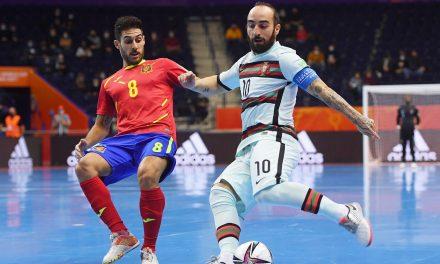 La mala suerte apea a España de las semifinales del Mundial de Futsal