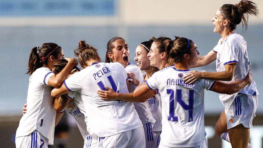 Así quedan los bombos de la Women's Champions League