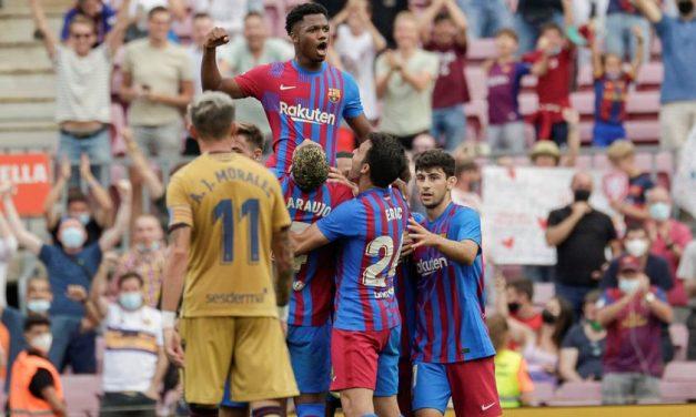 Vuelve Ansu, vuelve el Barça