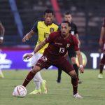 La selección de Venezuela se impuso a Ecuador en casa