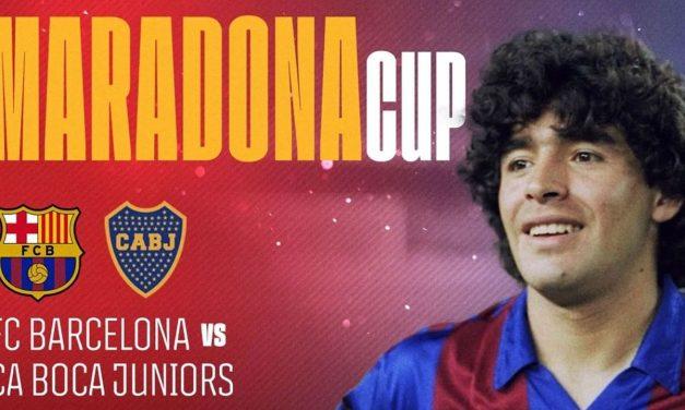 Se jugará la Maradona Cup