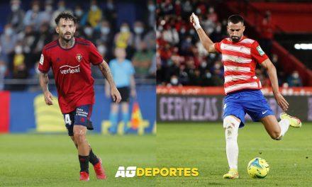 Osasuna-Granada: se reanuda LaLiga en El Sadar