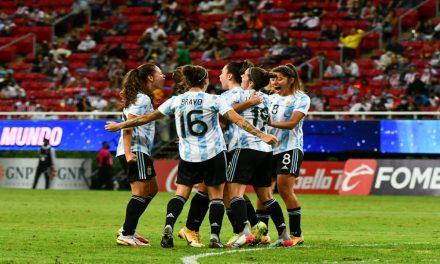 La Selección consiguió su primer triunfo