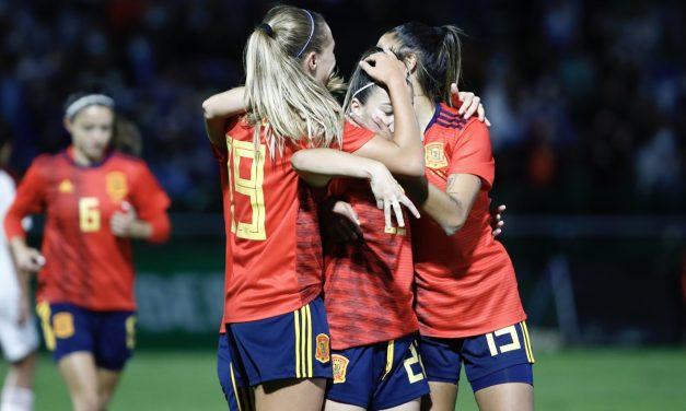 La selección española femenina mantiene su doble récord histórico